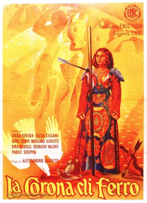 La corona di ferro - Italian Movie Poster