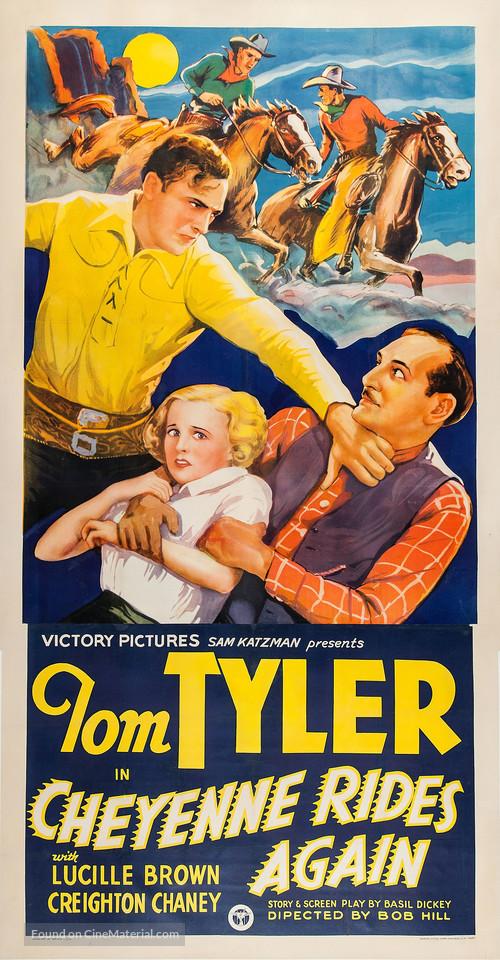 Cheyenne Rides Again - Movie Poster