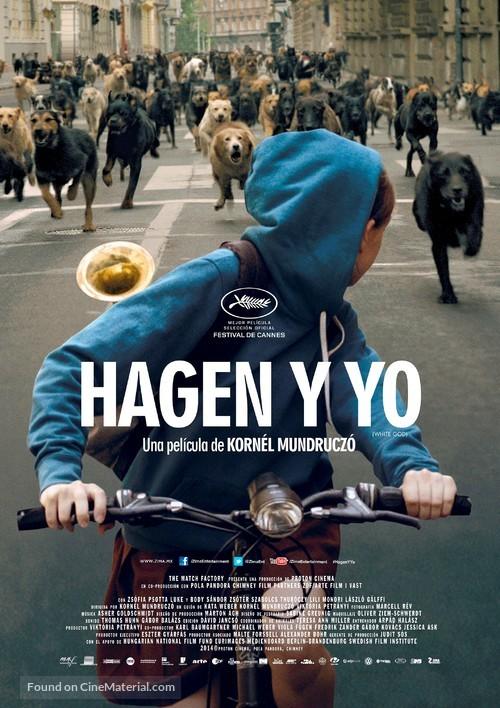 Fehér isten - Mexican Movie Poster