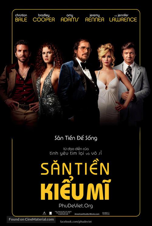 American Hustle - Vietnamese Movie Poster