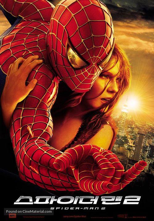 Spider-Man 2 - South Korean Movie Poster
