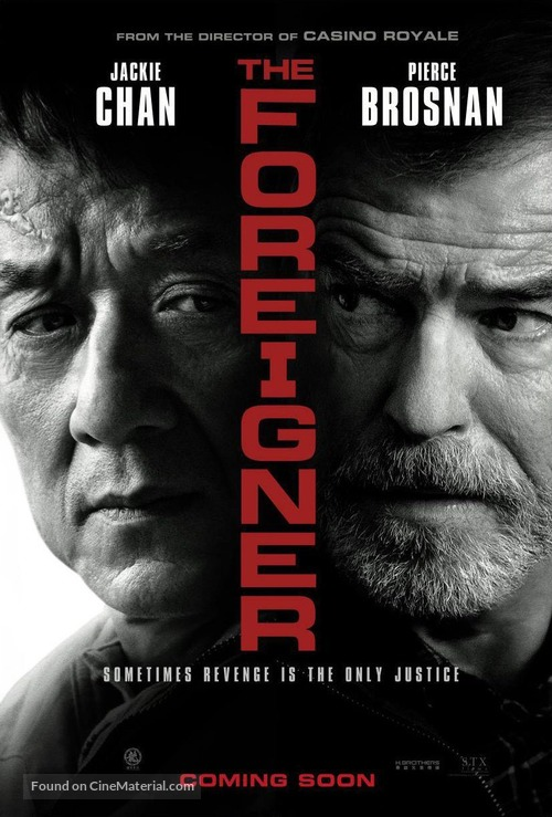 The Foreigner - British Movie Poster