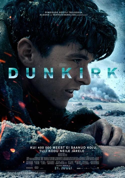 Dunkirk - Estonian Movie Poster