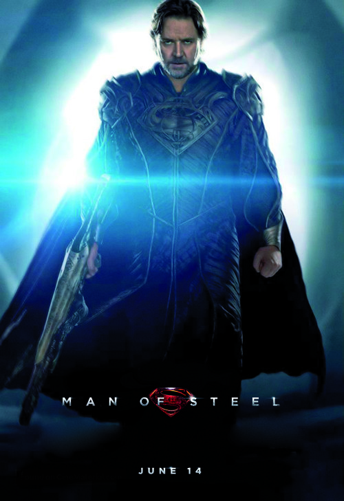 Man of Steel - Movie Poster