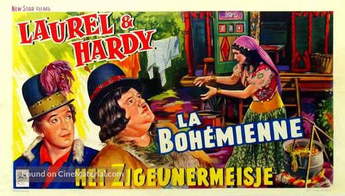 The Bohemian Girl - Belgian Movie Poster