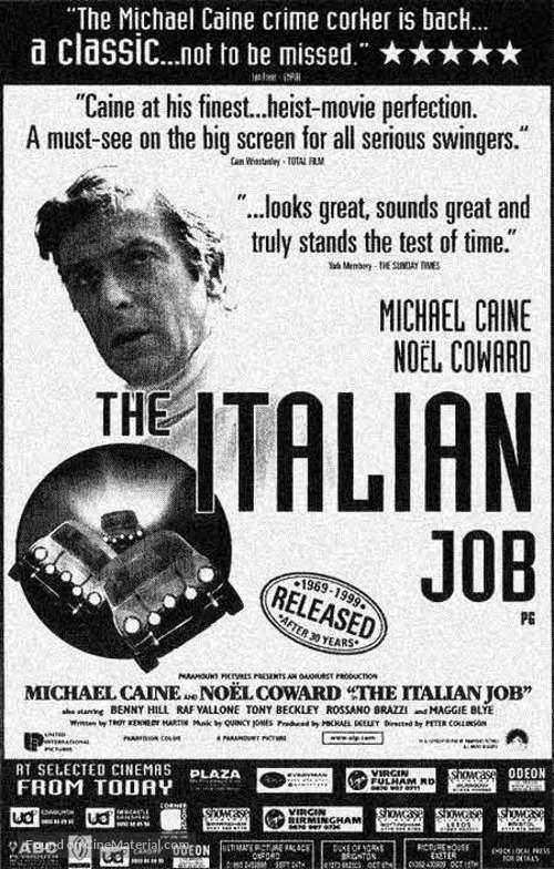 The Italian Job - poster