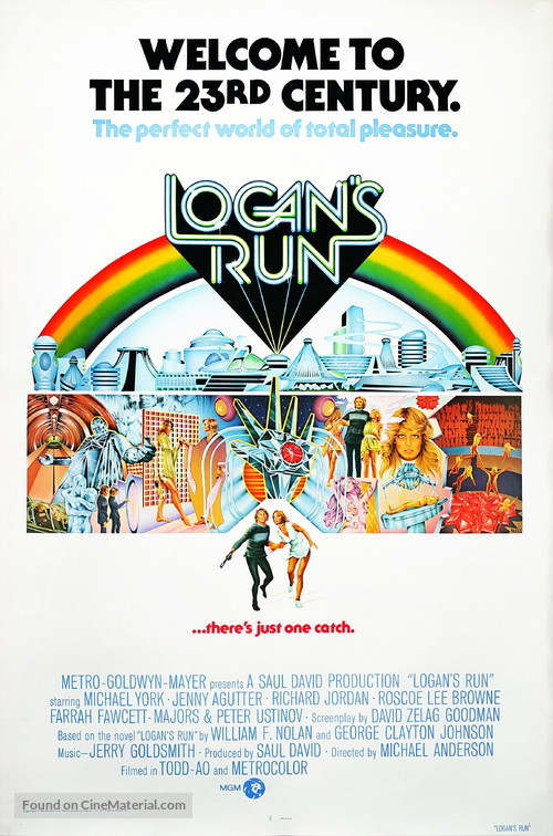 Logan's Run - Movie Poster