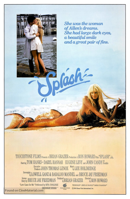 Splash - Movie Poster