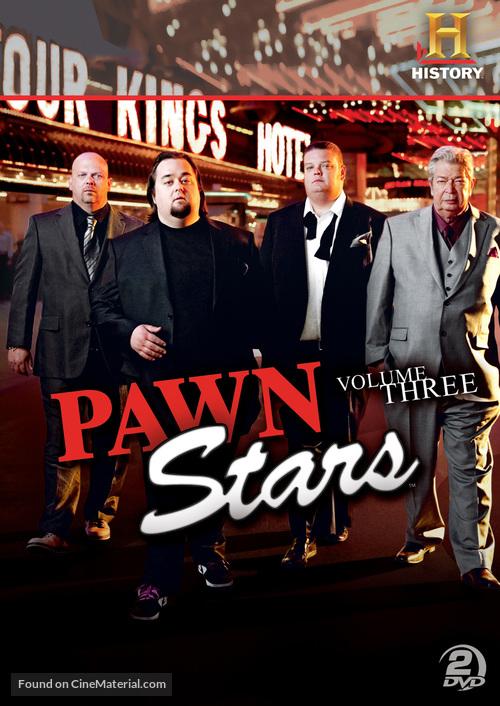 """Pawn Stars"" - DVD movie cover"
