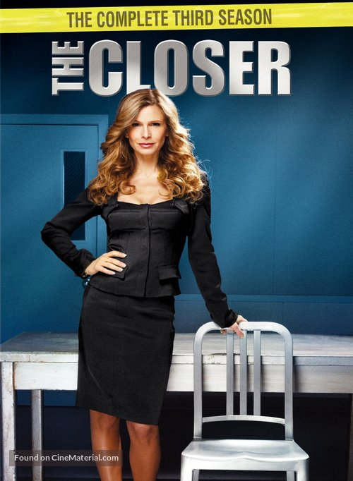 """The Closer"" - DVD movie cover"