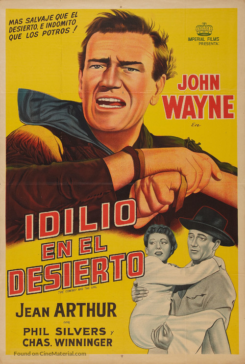 A Lady Takes a Chance - Argentinian Movie Poster