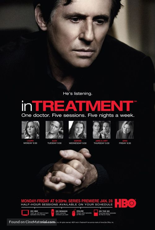 """""""In Treatment"""" - Movie Poster"""