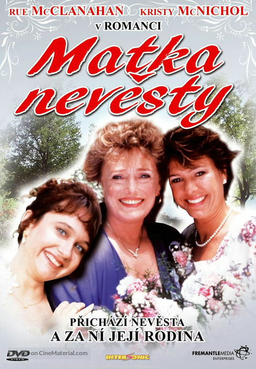 Mother of the Bride - Czech DVD movie cover