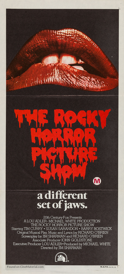The Rocky Horror Picture Show - Australian Movie Poster