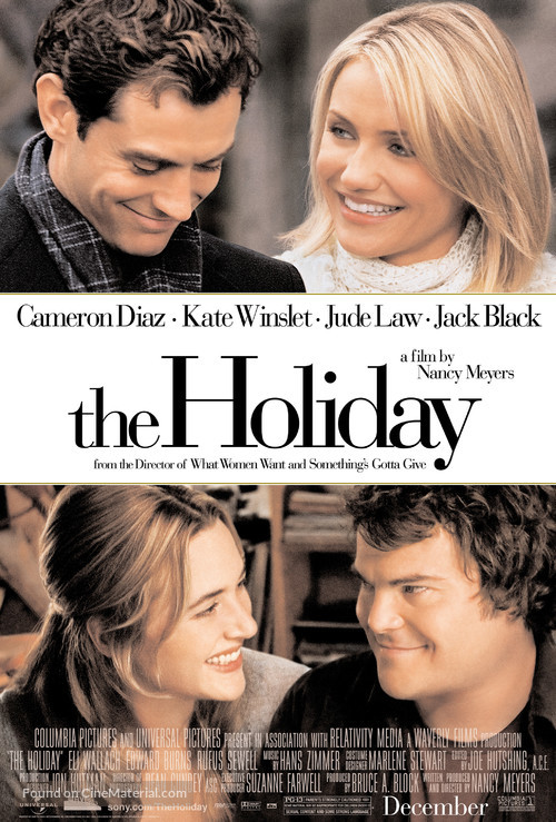 The Holiday - Movie Poster