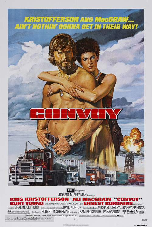 Convoy - Movie Poster