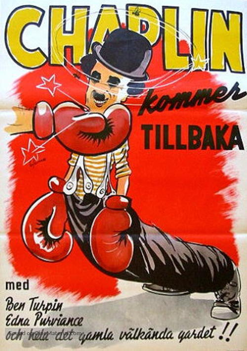 The Champion - Swedish Movie Poster