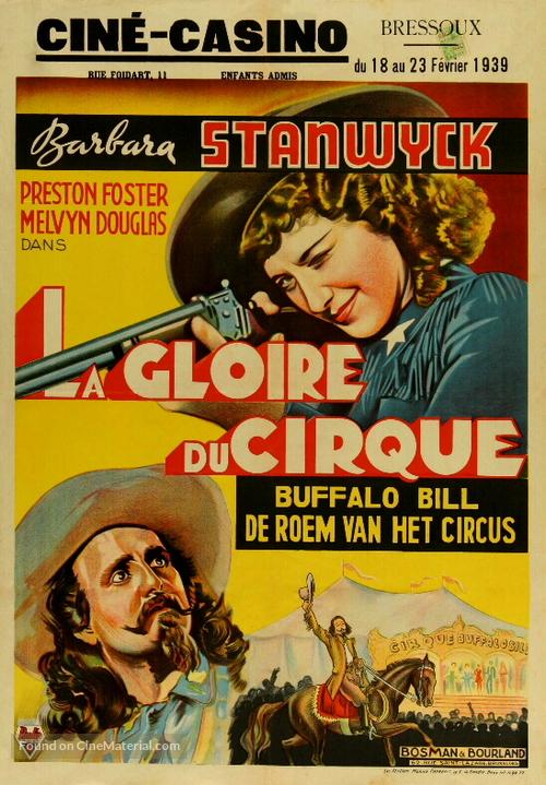 Annie Oakley - Belgian Movie Poster
