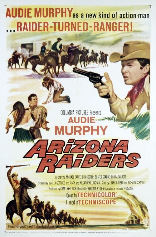 Arizona Raiders - Movie Poster