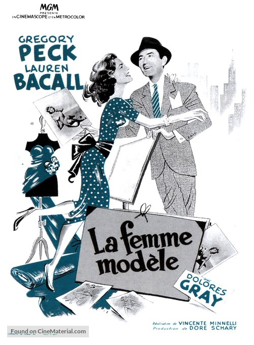 Designing Woman - French Movie Poster