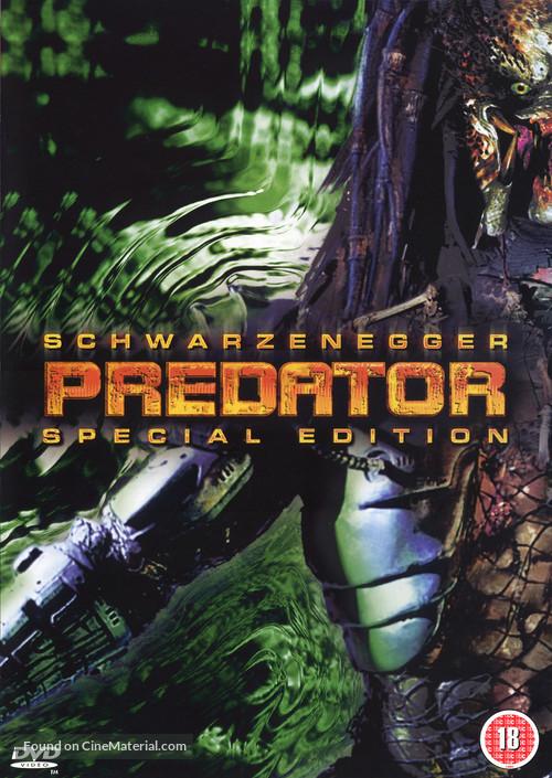 Predator - British DVD movie cover