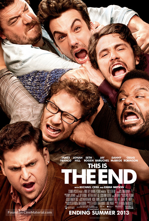 This Is the End - Movie Poster