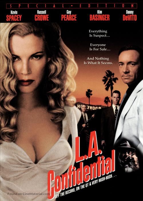 L.A. Confidential - DVD movie cover