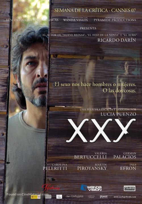 XXY (2007) Spanish movie poster
