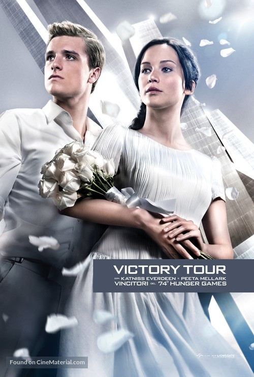 The Hunger Games: Catching Fire - Italian Movie Poster