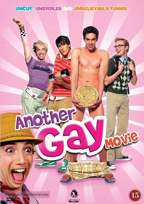 Another Gay Movie - Danish DVD movie cover