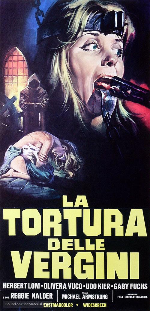 Hexen bis aufs Blut gequält - Italian Movie Poster
