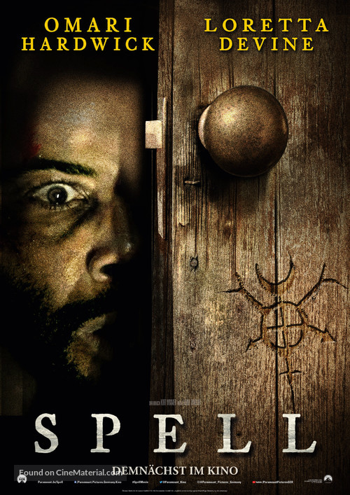 Spell - German Movie Poster