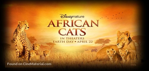 African Cats - Movie Poster