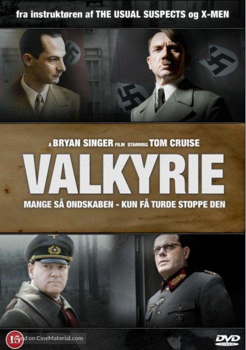 Valkyrie 2008 Danish Movie Cover
