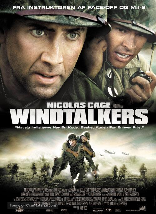 Windtalkers - Danish Movie Poster