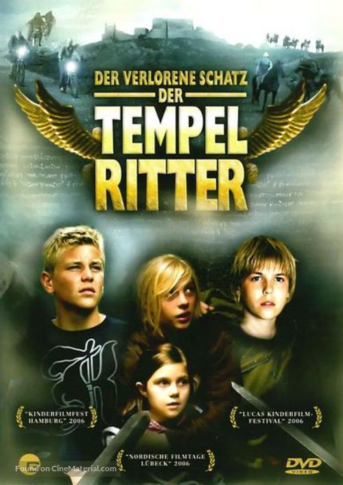 Tempelriddernes skat - German DVD cover