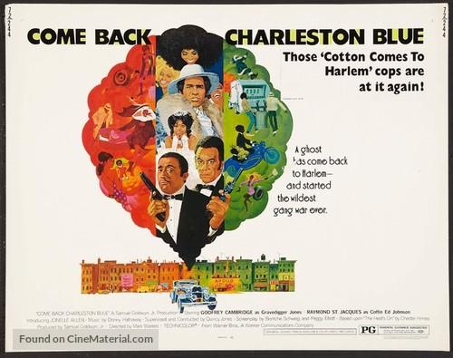Come Back, Charleston Blue - Movie Poster