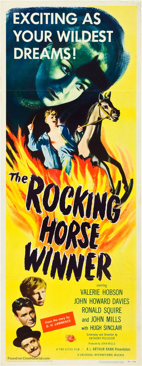 the rocking horse winner critical essays - the rocking horse winner essays discuss a book by dh lawrence about a boys struggle throughout life to be accepted and loved by his mother even if it causes.