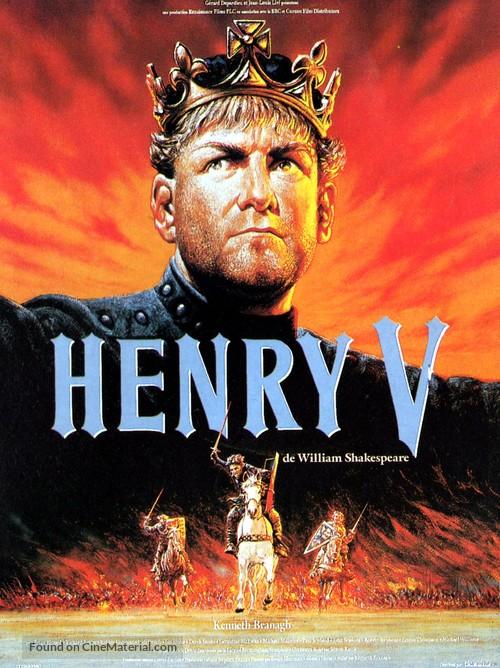 Henry V - French Movie Poster