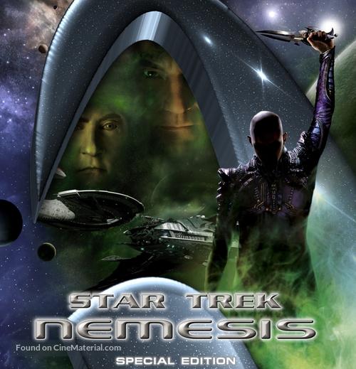 Star Trek: Nemesis - German Blu-Ray movie cover