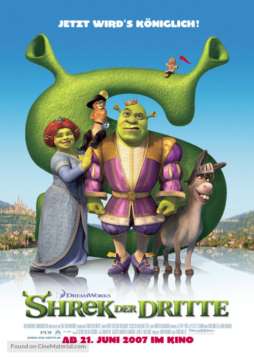 Shrek the Third - German poster