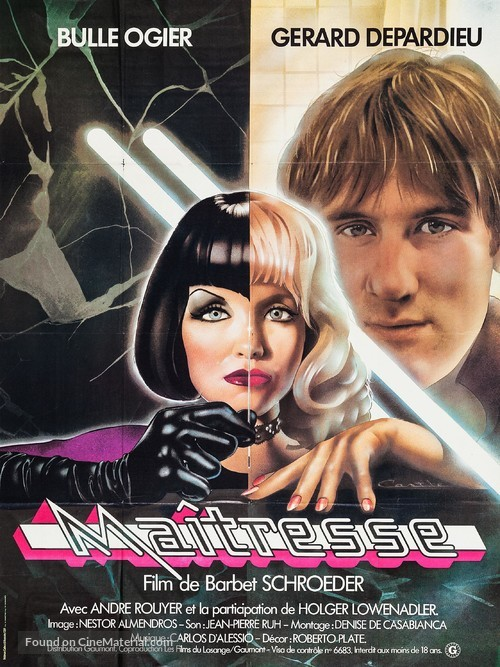Maîtresse - French Movie Poster