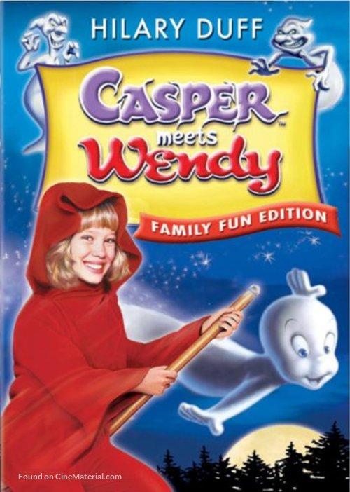 Casper Meets Wendy - DVD movie cover