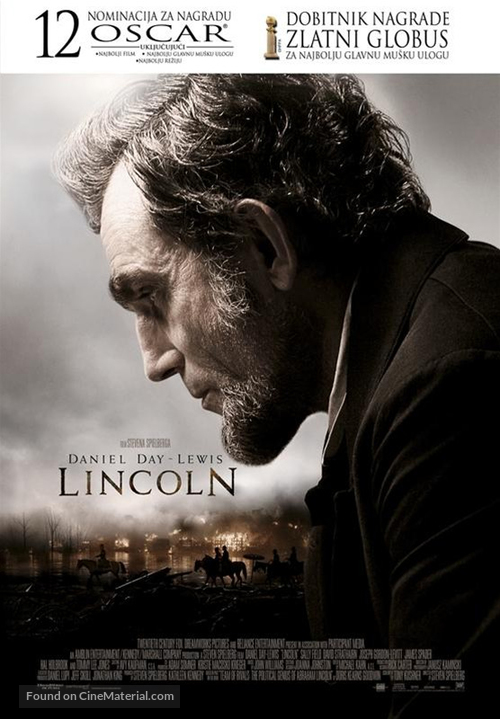 Lincoln - Croatian Movie Poster