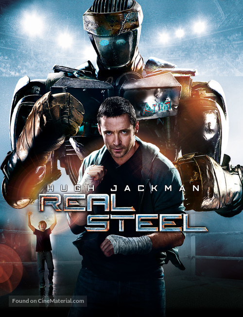 Real Steel 2011 Movie Cover