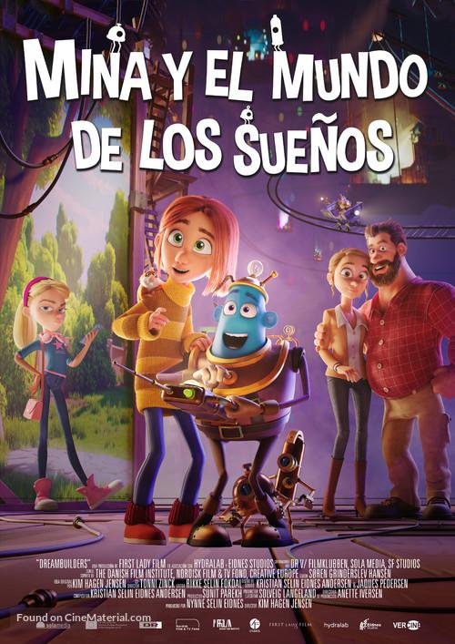 Dreambuilders - Spanish Movie Poster