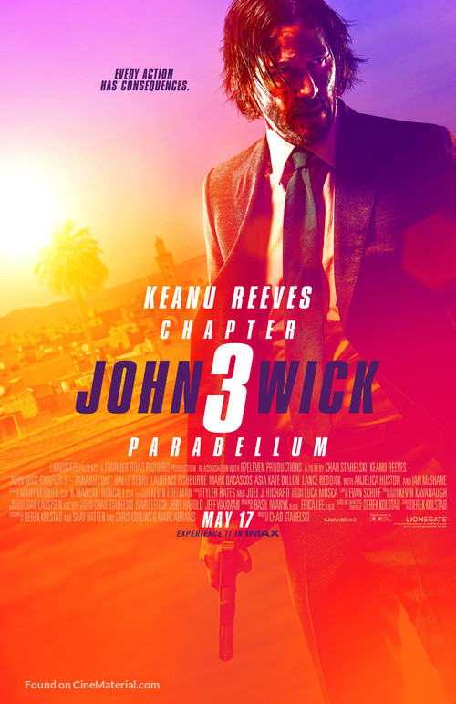 John Wick: Chapter 3 - Parabellum - Theatrical movie poster