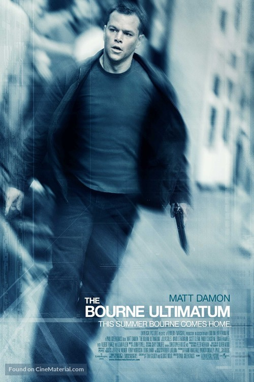 The Bourne Ultimatum - Movie Poster