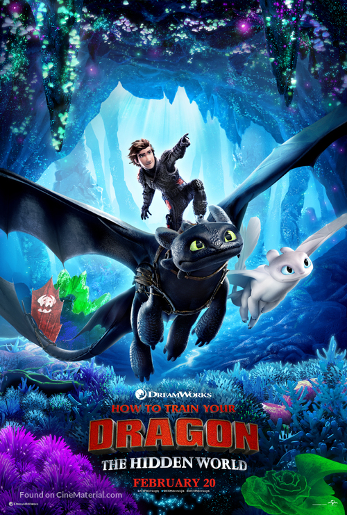How to Train Your Dragon: The Hidden World - Philippine Movie Poster