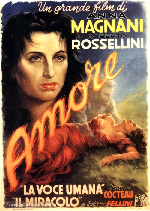 Amore, L' - Italian Movie Poster